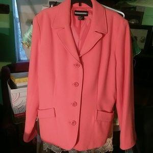 Lined Suit jacket/work blazer